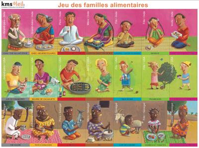 jeu des familles alimentaires